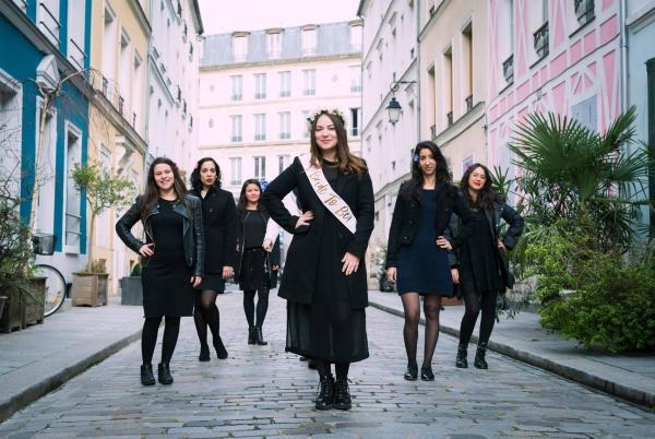 Shooting photo EVJF Paris