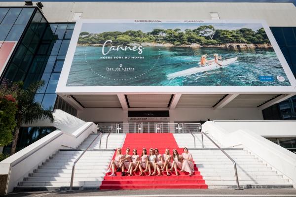 Shooting photo EVJF Cannes