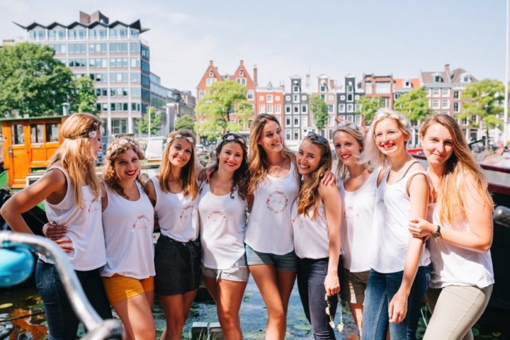 activité evjf Amsterdam